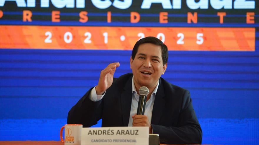Arauz lidera encuestas ante Lasso de cara a balotaje en Ecuador | HISPANTV