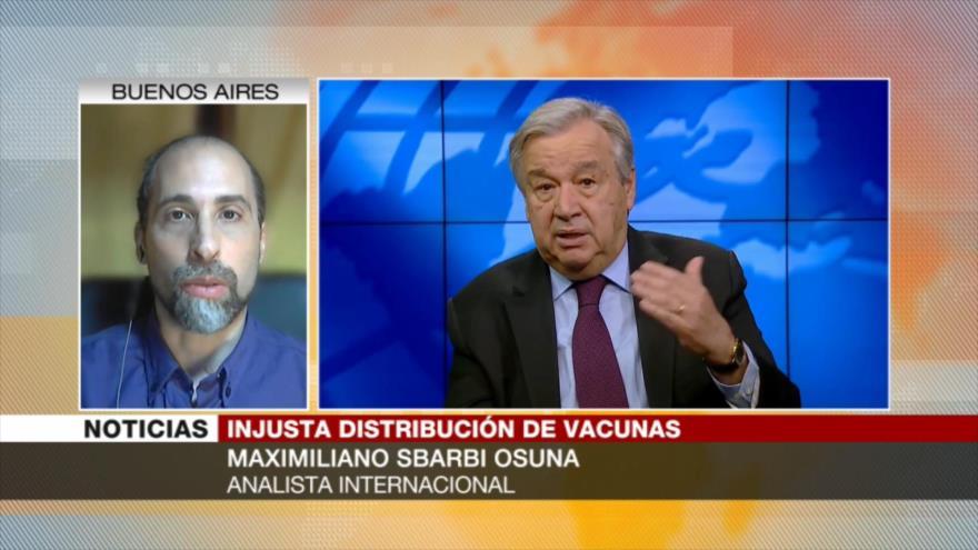 """Osuna: El mundo afronta """"un escándalo moral"""" por vacunación VIP"""