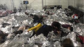 """""""Personal de Biden"""" impide grabar impactante condición de migrantes"""