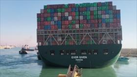 Vídeo: Canal de Suez restablece tráfico tras reflotar el Ever Given