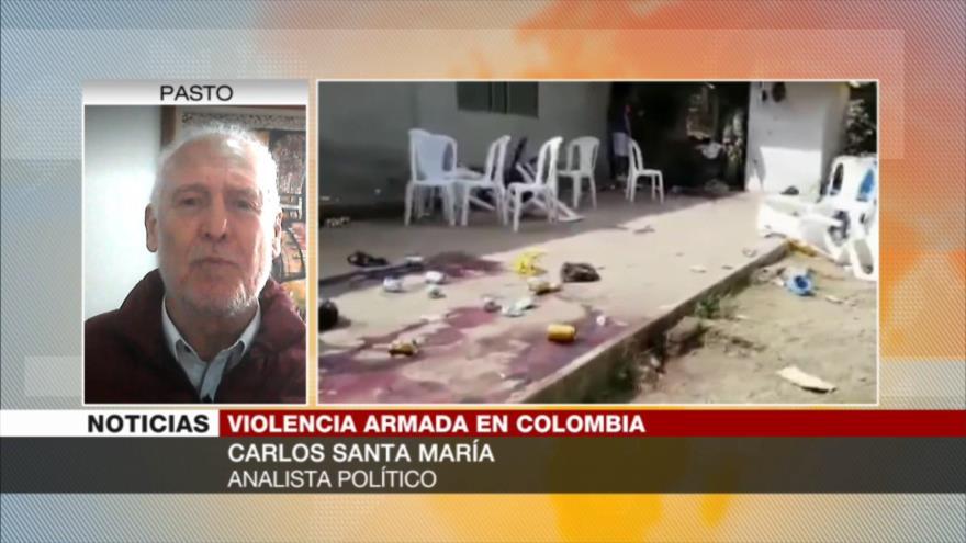 'Gobierno colombiano no tiene ningún interés en proceso de paz'