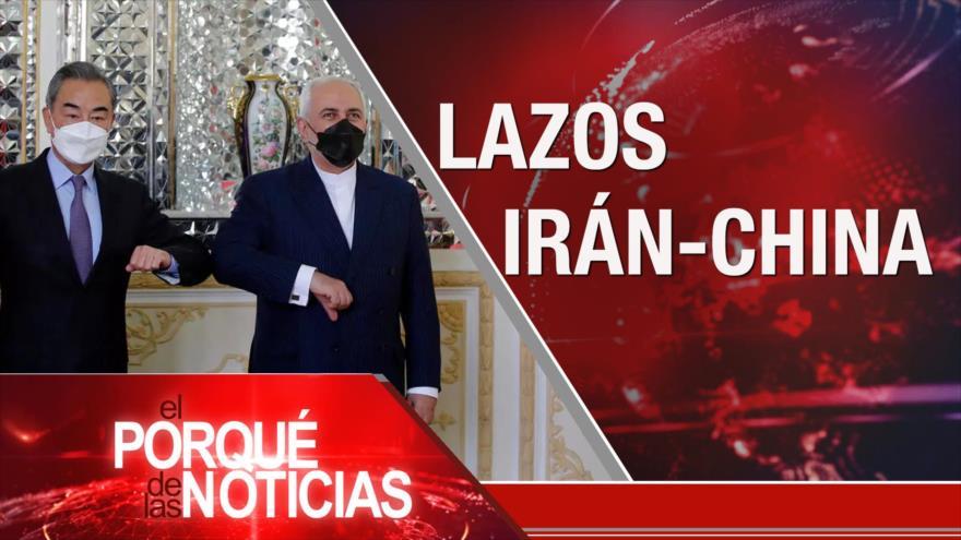 El Porqué de las Noticias: Lazos Irán-China. Racismo en EEUU. Democracia en Bolivia
