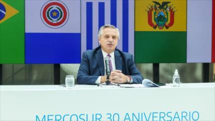 Fernández, Arce y Lula abogan por un Mercosur fuerte y unido