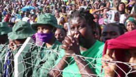 Una estampida en funeral del presidente de Tanzania deja 45 muertos