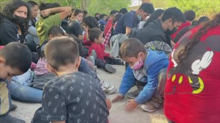 Alertan de condiciones sanitarias de migrantes en frontera de EEUU