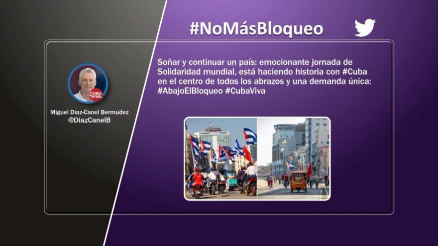 Etiquetaje: El mundo rechaza bloqueo de EEUU contra Cuba