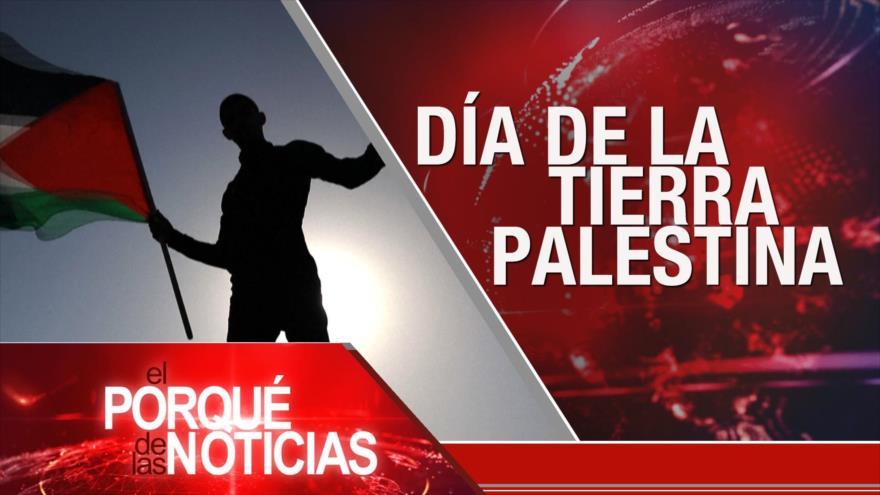 El Porqué de las Noticias: Día de la Tierra Palestina. Crisis migratoria. Elecciones en Ecuador