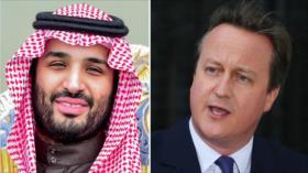 Escándalo: David Cameron acampó con Bin Salman pese al caso Khashoggi
