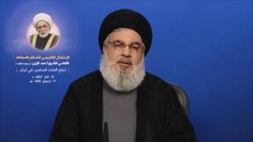 Nasralá: Poderío de Irán obliga a EEUU a recurrir a la diplomacia