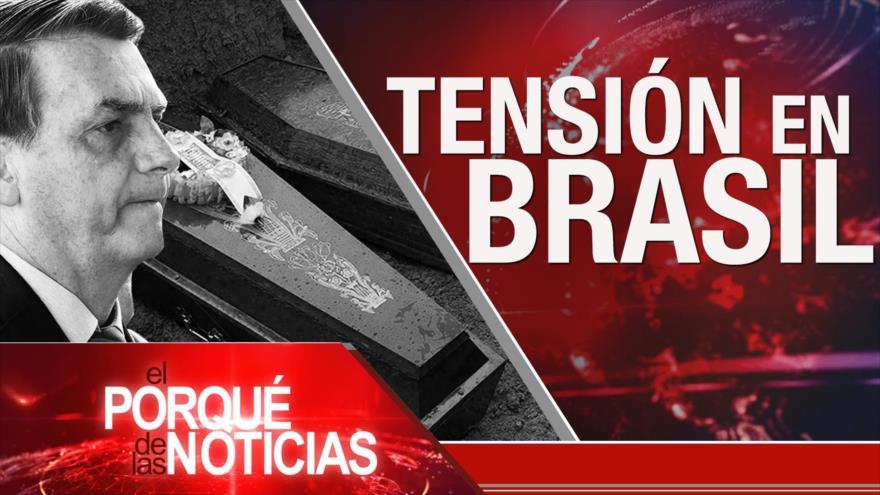 El Porqué de las Noticias: Sanciones contra Irán. Discurso de Nasralá. Tensión en Brasil