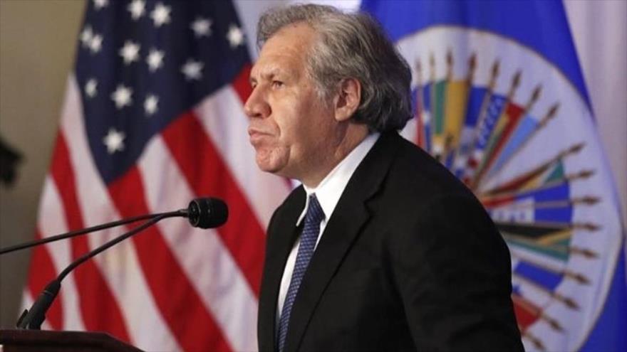 El secretario general de la Organización de Estados Americanos, Luis Almagro.