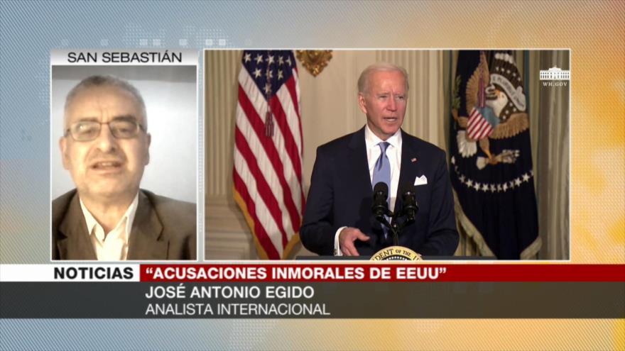 """Egido: Biden sigue """"agresividad trumpista"""" contra Cuba"""