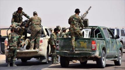 Vídeo: Tropas sirias lanzan operación en Deir Ezzor con apoyo ruso