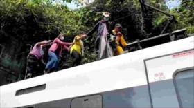 Vídeo: Accidente de tren deja al menos 50 muertos en Taiwán
