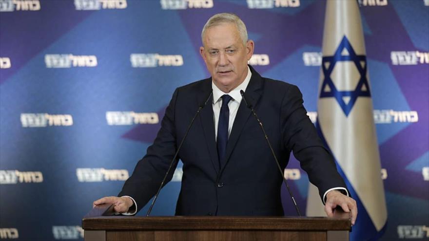 Gantz: Netanyahu lleva a Israel al borde de una guerra civil | HISPANTV