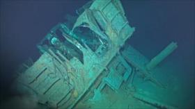 Confirman naufragio del USS Johnston, el más profundo jamás hallado