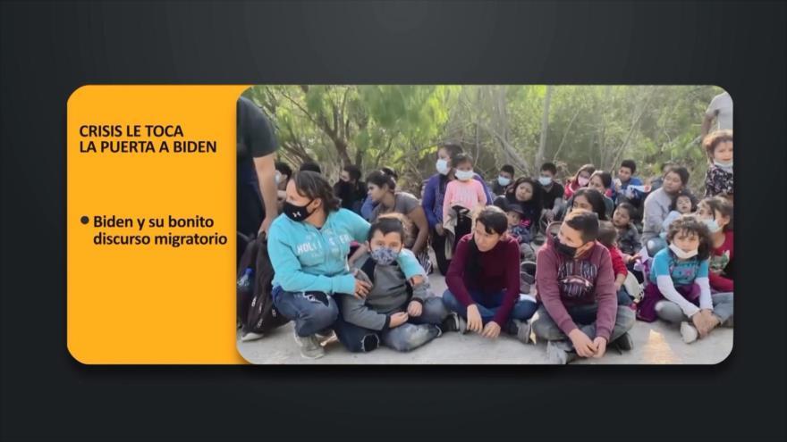 PoliMedios: Crisis le toca la puerta a Biden