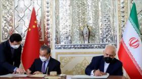 'Acuerdo Irán-China refuerza a ambos países ante sanciones'