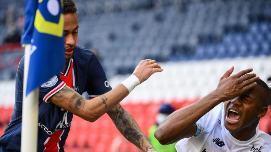 Vídeo: Neymar, expulsado y desquiciado tras la derrota de PSG