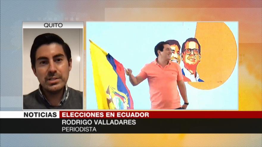 Valladares: La gran mayoría de indígenas apoya a Arauz en Ecuador