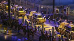 El Cairo: 22 momias egipcias desfilan hacia un nuevo museo