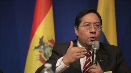 Arce agradece rechazo a injerencia de Almagro y EEUU en Bolivia