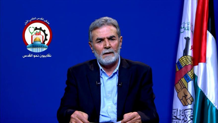 Se celebra Foro Sindical de Al-Quds en Siria