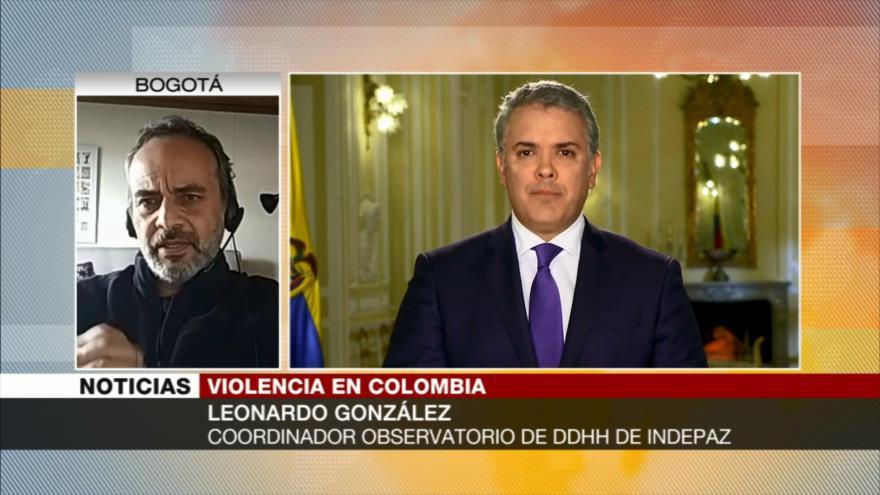 González: La violencia en Colombia se ha agravado