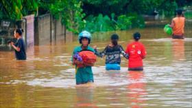 Masivas inundaciones dejan 70 muertos en Indonesia y Timor Oriental