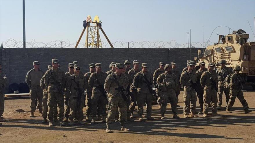 Soldados de EE.UU. en una base militar al norte de Mosul (Irak), 4 de enero de 2017. (Foto: Reuters)