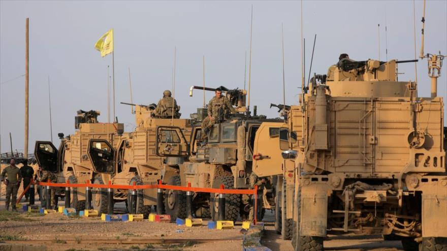 EEUU roba otros 14 camiones de trigo sirio y los traslada a Irak | HISPANTV