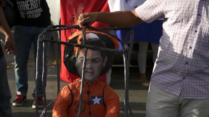 Hondureños celebran sentencia contra hermano del presidente