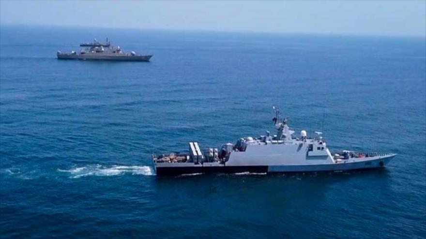 En imágenes: Irán y Paquistán realizan maniobras en Golfo Pérsico