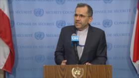 Irán exige desde la ONU fin de sanciones en medio de pandemia