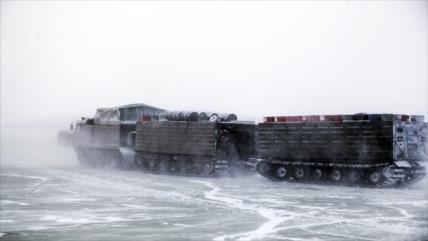 Rusia responde a EEUU y defiende su presencia militar en el Ártico