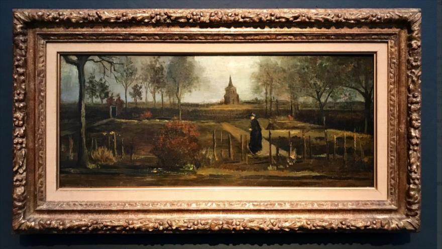 El cuadro 'Spring Garden' (1884), del pintor neerlandés Vincent Van Gogh.