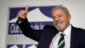 Sondeo: Lula derrotará a Bolsonaro en elecciones de Brasil