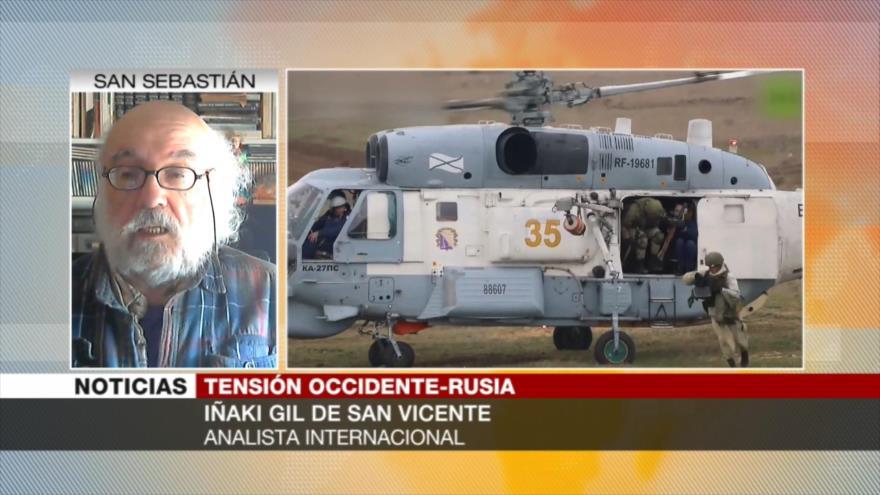Gil: EEUU y Europa intentan avanzar bases de la OTAN hacia Rusia