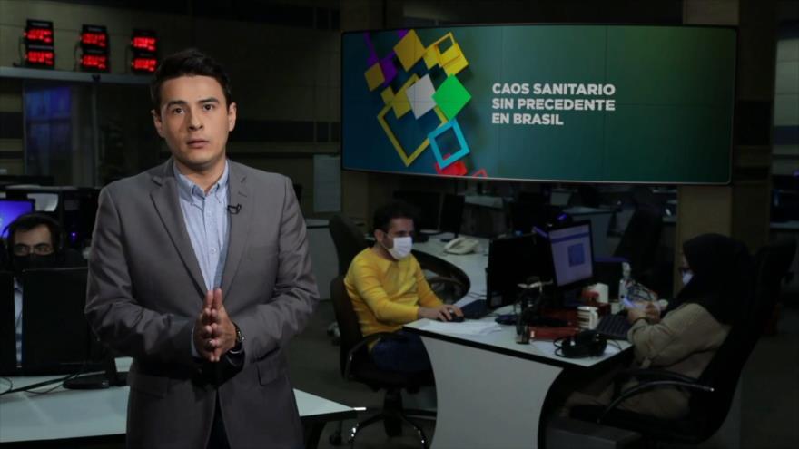 Buen día América Latina: Caos sanitario sin precedente en Brasil