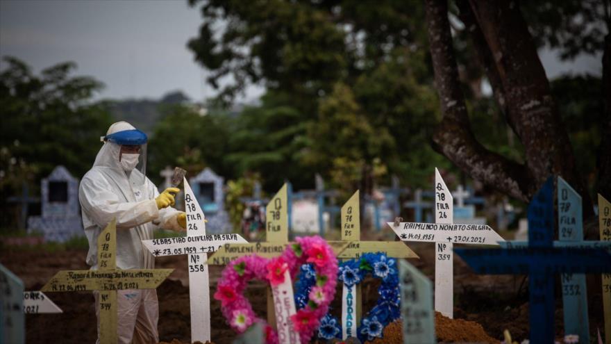 Tragedia a la vista por COVID-19: Brasil es 'Fukushima biológico' | HISPANTV