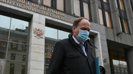 Moscú: Retorno de embajador depende de cambio de actitud de EEUU