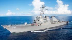 China envía cazas para vigilar un destructor de EEUU cerca de Taiwán