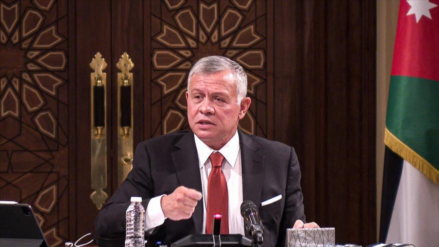 Rey jordano tras intento de golpe: No dejaremos de defender Palestina