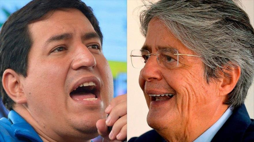 Elecciones en Ecuador: Arauz y Lasso continúan actos de campaña