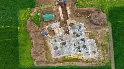 Arqueólogos hallan un muro de hace 5000 años en China