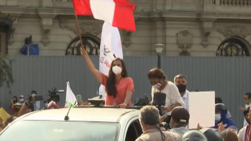 Candidatos presidenciales de Perú ultiman sus campañas