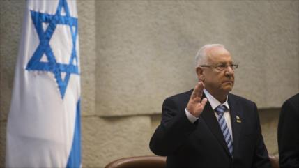 Presidente israelí se pone a llorar hablando de división interna