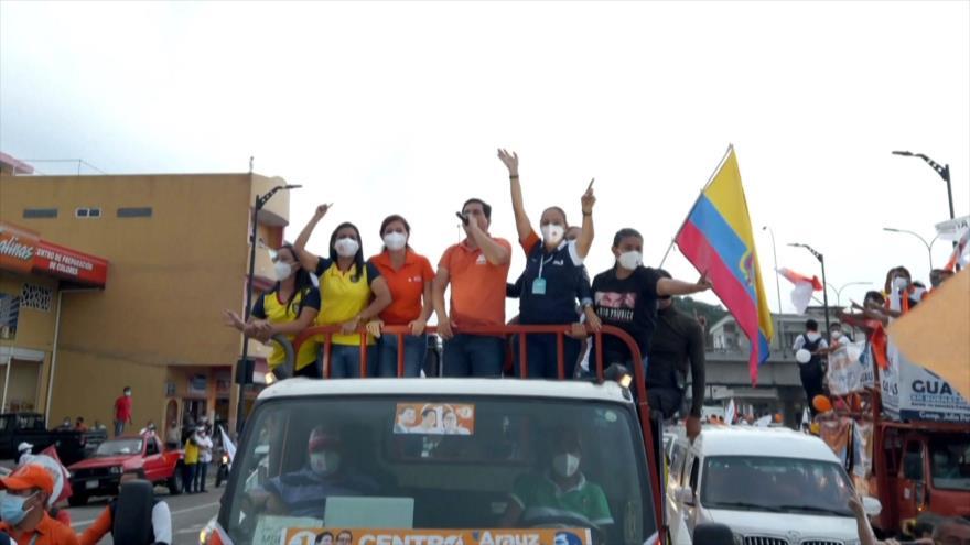 Finaliza campaña electoral en Ecuador: Arauz el favorito en sondeos