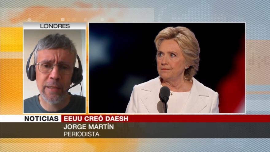 Martín: EEUU usa a Daesh cuando le conviene atacar a otros países