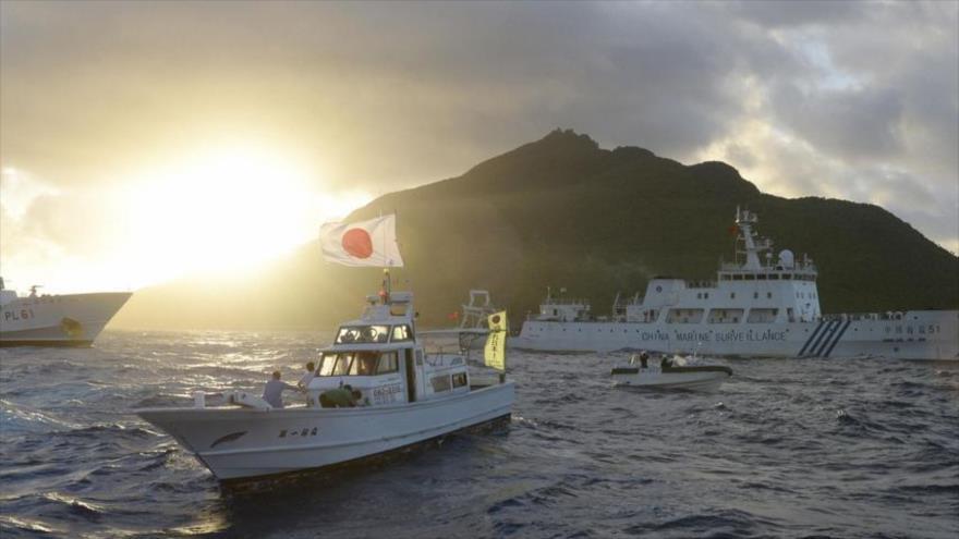 Un barco pesquero japonés en el mar del Este, el 1 de julio de 2013. (Foto: Reuters)